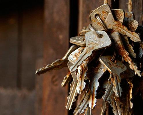 rusty keys 495x400