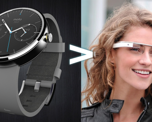 why moto 360 is better than google glass 495x400