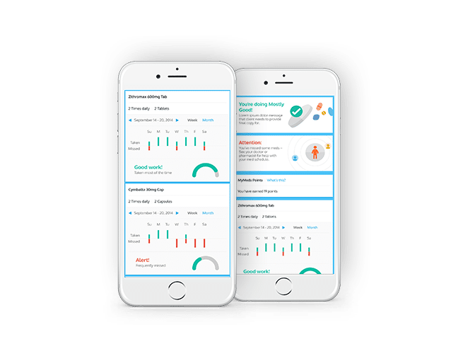 MyMeds, medication reminder app