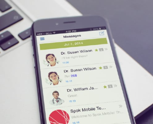 Spok paging app for android