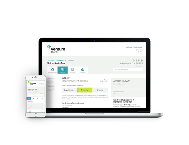 Venture Solutions banking application