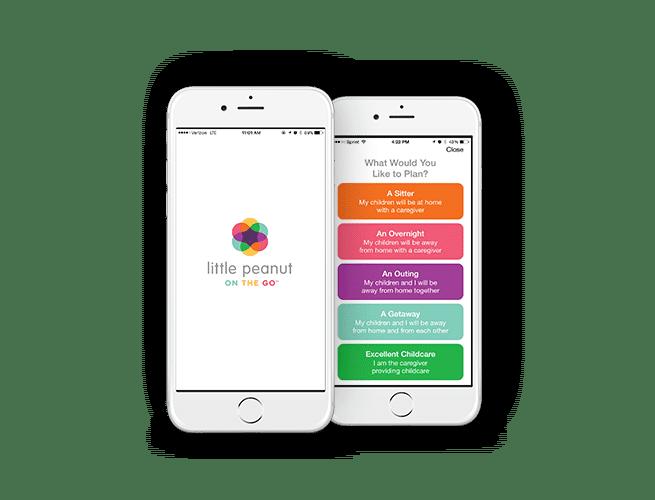 Little Peanut on the Go, mobile app for parents