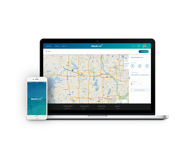 Blackriver cycling apps