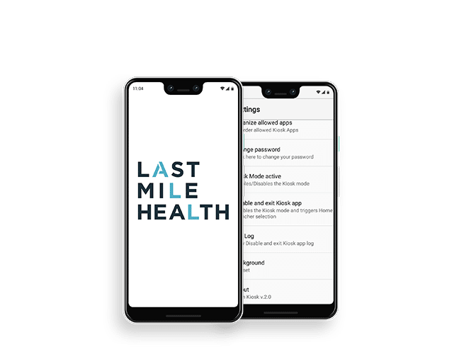 Last Mile Health android application