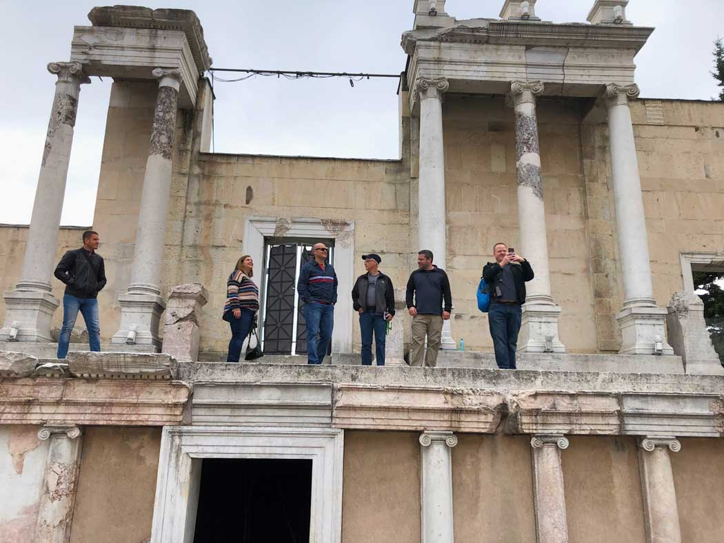 The Edmentum team explores Plovdiv Bulgaria