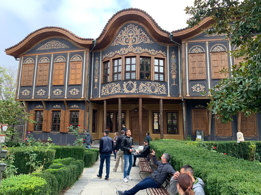 The Edmentum team exploring Plovdiv Bulgaria