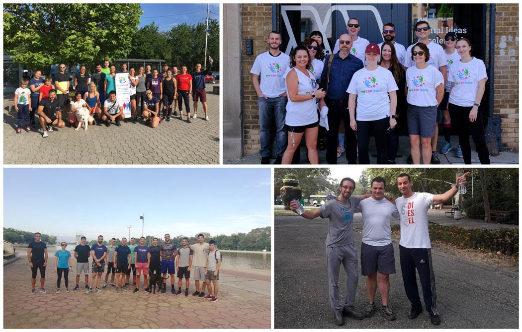 MentorMate participants from Edmentum's WeCanLearn 5k run