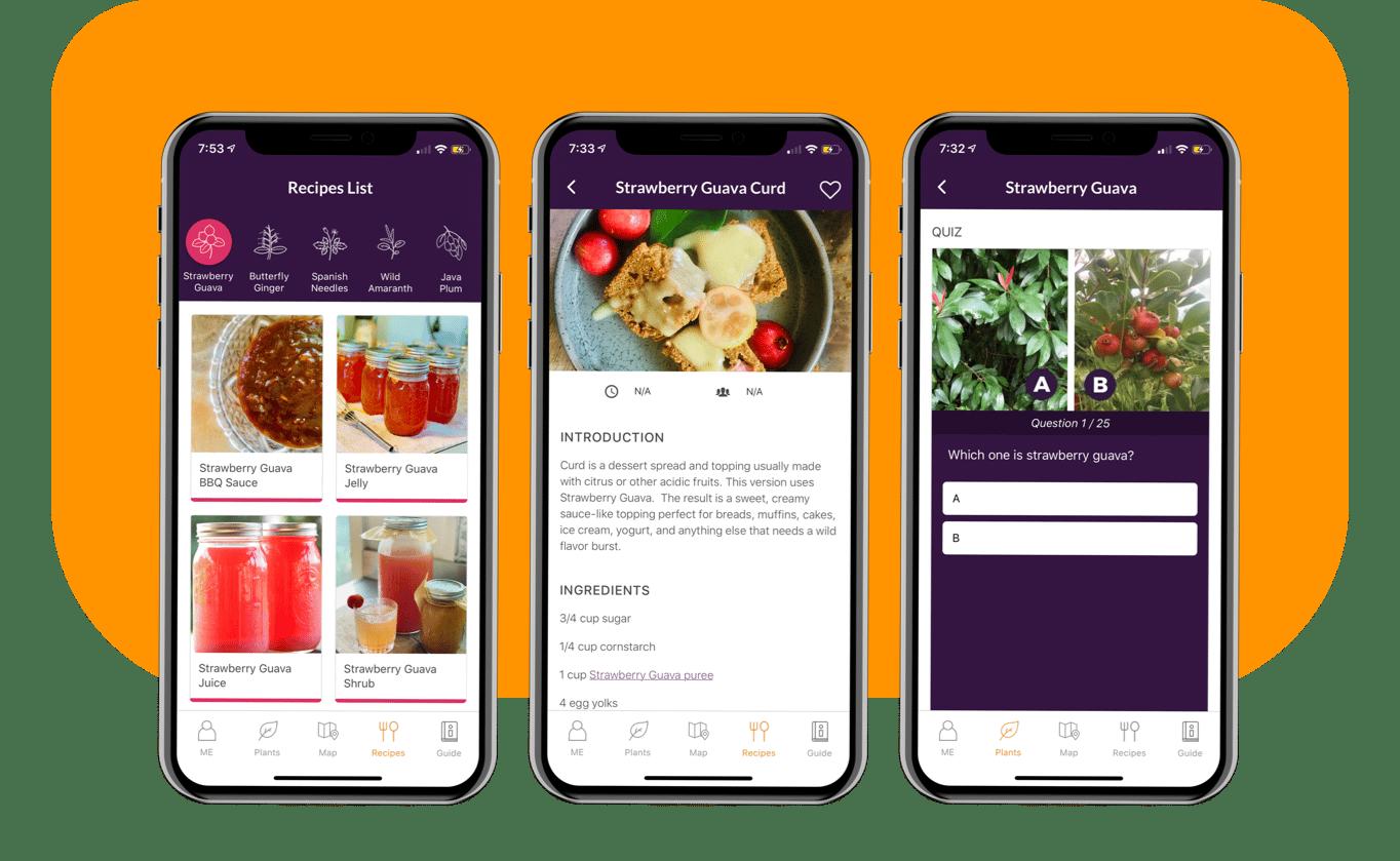 Savage Kitchen App Recipes feature