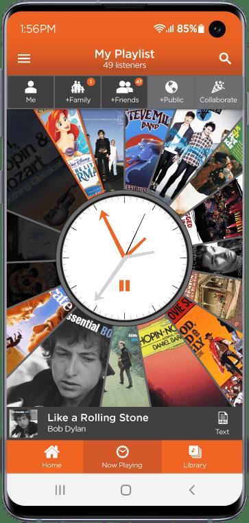 Giddy Music Streaming app screenshot 1