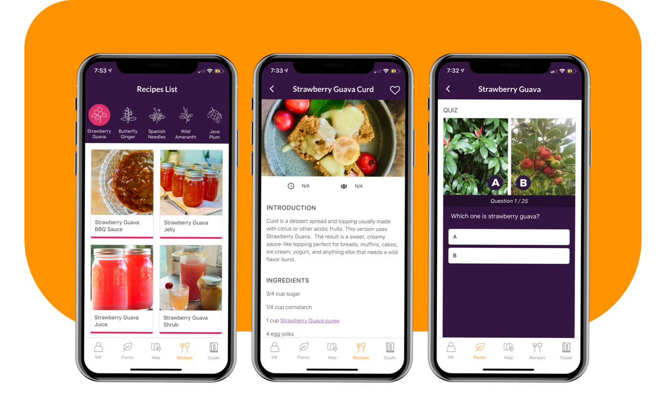 Savage Kitchen App Recipes feature